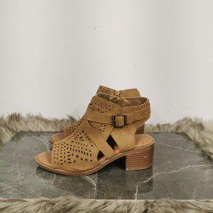 Justice Low Heel Sandals